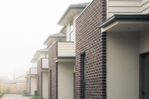 townhouses and units